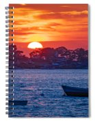 Harpswell Sunset Spiral Notebook