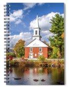 Harrisville, New Hampshire Church Spiral Notebook