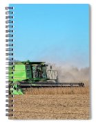 Harvesting Soybeans Spiral Notebook