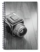 Hasselblad On The Floor Spiral Notebook