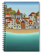 Hastings From The Sea Spiral Notebook