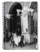 Havana Cafe, C1904 Spiral Notebook