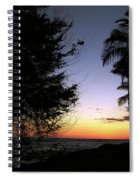 Hawaii Sunset Spiral Notebook