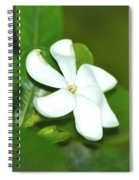 Hawaiian Gardenia Spiral Notebook