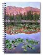 Hayden Peak And Butterfly Lake, Uinta Spiral Notebook