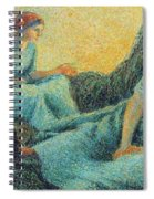Haymakers Resting, 1891 Spiral Notebook