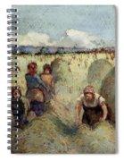 Haymaking, 1895 Spiral Notebook