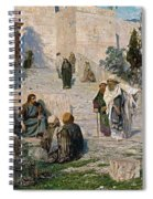 He That Is Without Sin, 1908 Spiral Notebook
