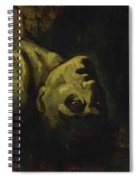 Head Of A Drowned Man Spiral Notebook