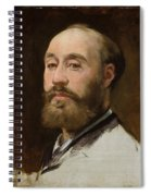 Head Of Jean Baptiste Faure        Spiral Notebook