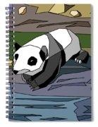 Heathers Panda V2 Spiral Notebook