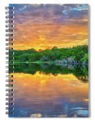 Heavenly Reflections In The Hill Country Spiral Notebook