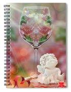 Heavenly Valentine Spiral Notebook