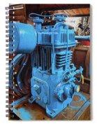 Heavy Duty Machine Spiral Notebook