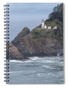 Heceta Head Light Spiral Notebook