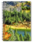 Hello Autumn Spiral Notebook