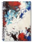 Hello Red Spiral Notebook