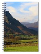 Helm Crag And Wythburn Fells Above Grasmere In The Lake District Spiral Notebook