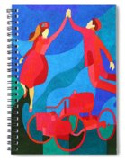 Henry And Clara Ford Spiral Notebook