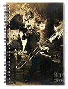 Hep Cats Spiral Notebook