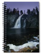Hepokongas Waterfall Spiral Notebook