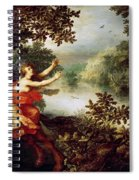 Hercules  Dejaneira  And The Centaur Nessus  Spiral Notebook