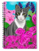 Hercules In The Garden Spiral Notebook