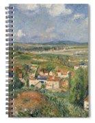 Hermitage In Summer, Pontoise, 1877 Spiral Notebook