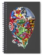 Heroic Mind Spiral Notebook