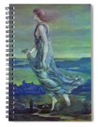Hesperus The Evening Star 1870 Spiral Notebook