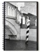 Hidden Passages Venice Vii    Spiral Notebook