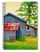 Hidden Sheep Barn Spiral Notebook