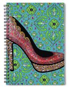 High Heel Party Spiral Notebook