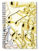 High Key Harmony Spiral Notebook
