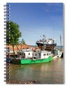 Hightide At Delhaven  Spiral Notebook