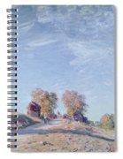 Hill Path In Sunlight, 1892 Spiral Notebook