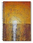 Hilton Head Sunrise Original Painting Spiral Notebook