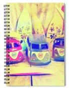 Hippie Holidays Spiral Notebook