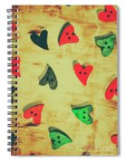 Historic Hearts Spiral Notebook