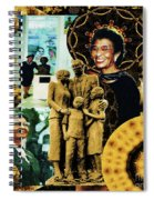 Historic Triumph Of Dr. Abigail Jordan Spiral Notebook