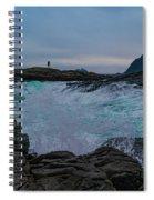 Hit The Rocks Spiral Notebook