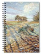 Hoarfrost At Ennery, 1873 Spiral Notebook
