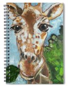 Hobbes Giraffe Spiral Notebook