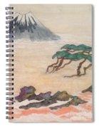 Hoitsu Through The Eyes Of Modernity Turned Backward Spiral Notebook