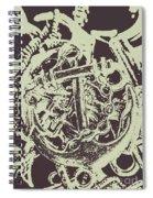 Holding Helm Spiral Notebook