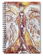 Morning Angel Spiral Notebook
