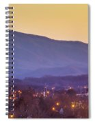 Holston Mountain Over Tennessee High Spiral Notebook