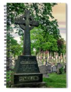 Holy Cross Cemetery And Our Lady Of Sorrows Chapel Spiral Notebook