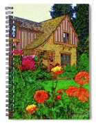 Home And Garden Spiral Notebook