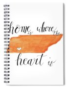 Home Is Where The Heart Is Spiral Notebook